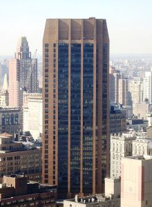 The IEEE corporate office is on the 17th floor of 3 Park Avenue in New York City