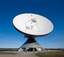 Satellite dishes are a crucial component in the analysis of satellite information.